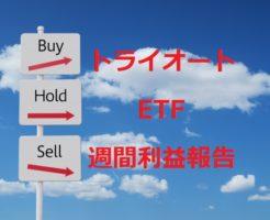 投資のトライ-トライオートETF利益報告