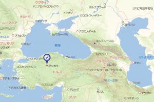 トルコリラ円スワップ生活-トルコ地図