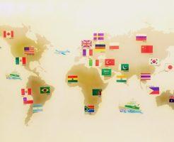 トルコリラ円スワップ生活-世界地図トルコ欧州アメリカ